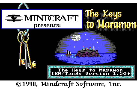 Download Keys to Maramon rpg for DOS (1990) - Abandonware DOS