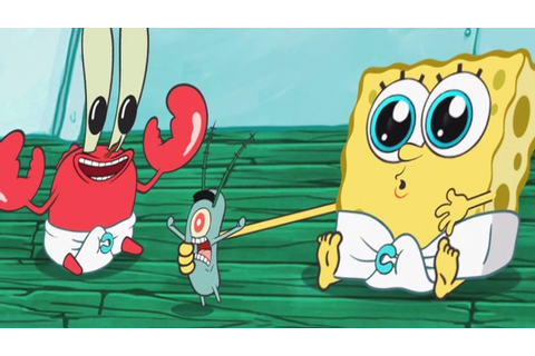 SpongeBob's Game Frenzy: Meet The Baby Spongebob ...