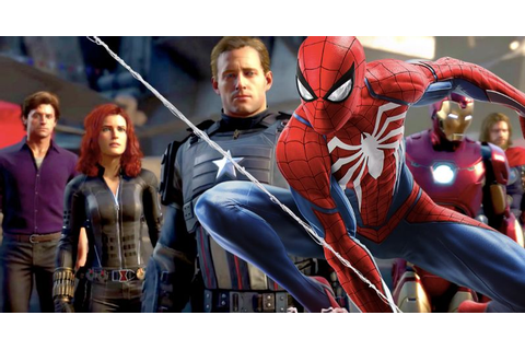 Do Marvel's Avengers & Spider-Man PS4 Games Share the Same ...