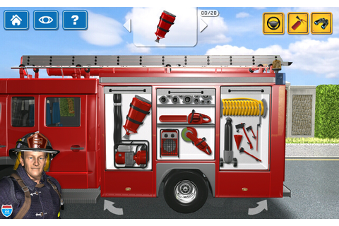 Kids Vehicles 1: Interactive Fire Truck - Animated 3D ...