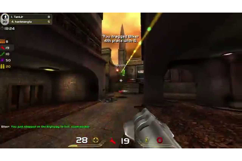 Quake Live Gameplay First Game - YouTube