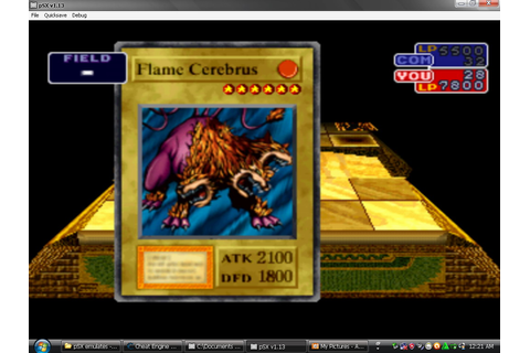 Yu-Gi-Oh! Forbidden Memories on Qwant Games