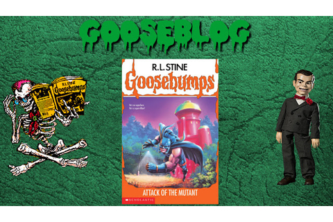 Retro Oasis: Gooseblog: Goosebumps #25: Attack Of The Mutant