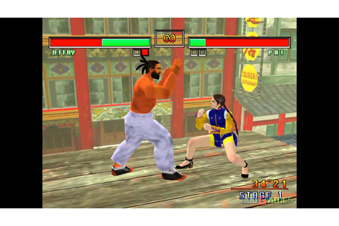 Virtua Fighter 3TB - Gameplay Dreamcast HD 720P - YouTube