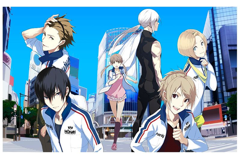 Prince of Stride Alternative Anime Character Designs - Yu ...