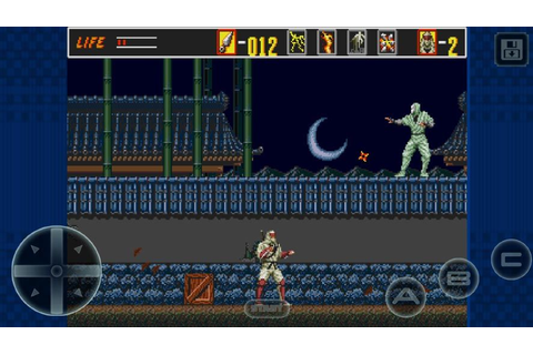 The Revenge of Shinobi now out on the SEGA Forever line ...