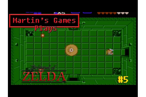 The Legend of Zelda - Dungeon 5 (NES Game Play) - YouTube