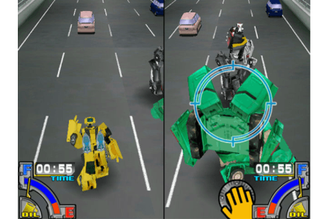 Transformers Animated: The Chase arcade video game by SEGA ...