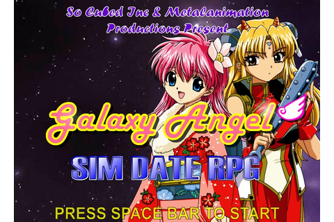 Galaxy Angel: Sim Date RPG Hacked (Cheats) - Hacked Free Games