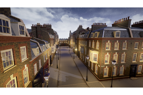 London Street by Mikhail Kadilnikov in Environments - UE4 ...