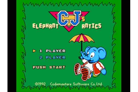 CJ's Elephant Antics NES In-Game Music - YouTube