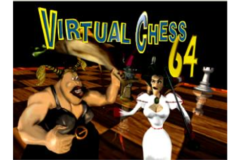 Virtual Chess 64 Nintendo 64 Game