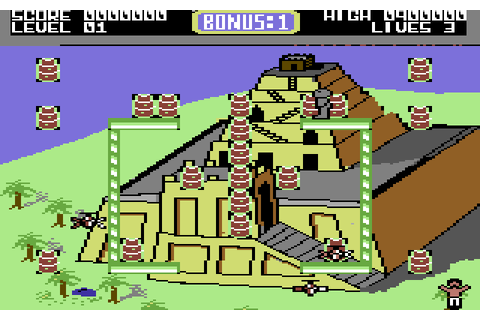 Bombo (1986) by Rino Software C64 game