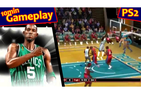 NBA 2K9 ... (PS2) - YouTube