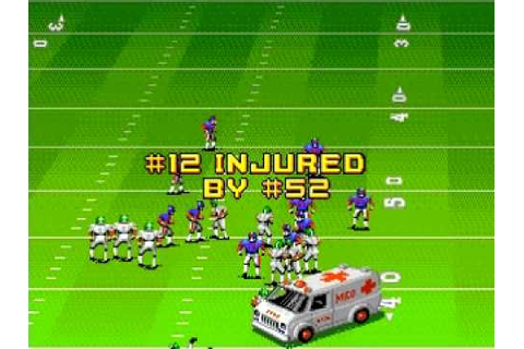 John Madden Football '92 Ambulance Montage - YouTube