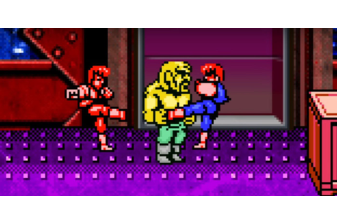 Double Dragon IV Officially Announced for Playstation 4 ...