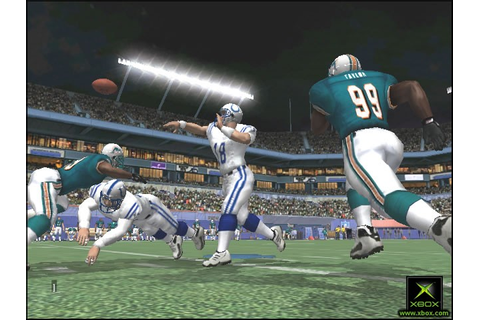 XBox – NFL Fever 2002 – XBOX Home