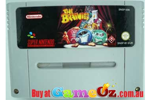 The Brainies Super Nintendo Game