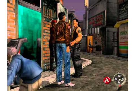 Shenmue on the Sega Dreamcast! - YouTube