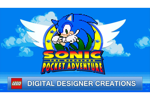 Sonic The Hedgehog Pocket Adventure | Lego Digital ...