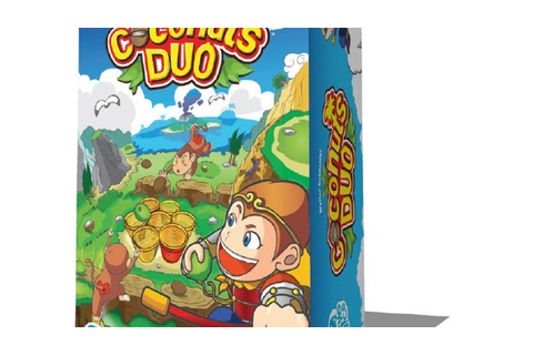 "Coconuts Duo ""Crazy Monkey"" Dexterity Game for 2 Players ..."