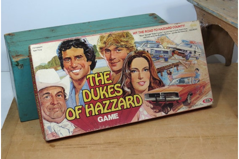 The Dukes Of Hazzard Board Game . Complete . by ...