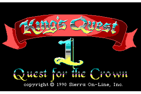 Kings Quest: Quest for the Crown (Enhanced VGA) | Play DOS ...