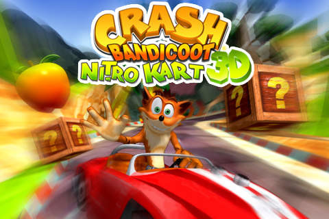 Crash Bandicoot Nitro Kart 3D for iPhone - Free Download