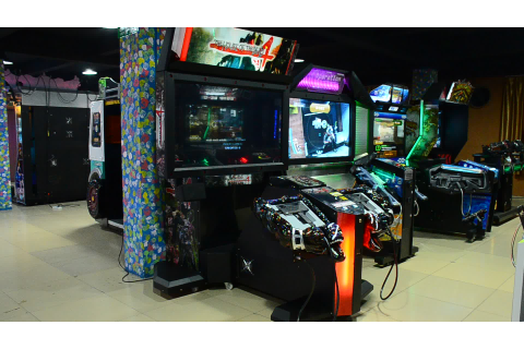 Classic Shooting Game Razing Storm Video Game Machine ...