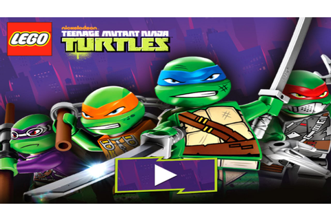 LEGO Teenage Mutant Ninja Turtles (TMNT) Video Game ...