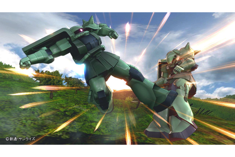 Additional Playable Mobile Suit Zaku II on PS3 | Official ...