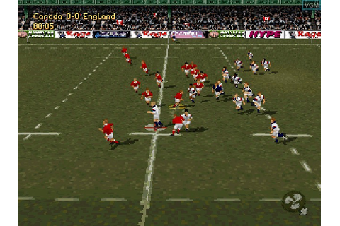Jonah Lomu Rugby for Sony Playstation - The Video Games Museum