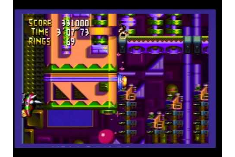 Knuckles Chaotix (32X) - Amazing Arena 5 (game over) (2011 ...