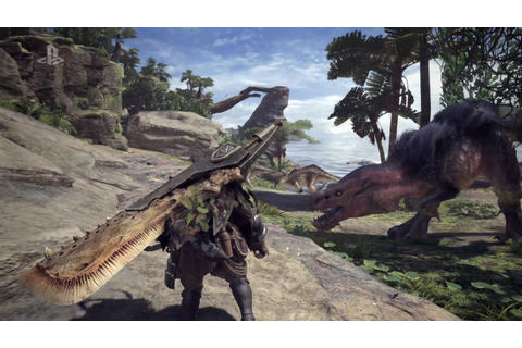 Monster Hunter World E3 2017 Gameplay Trailer - YouTube
