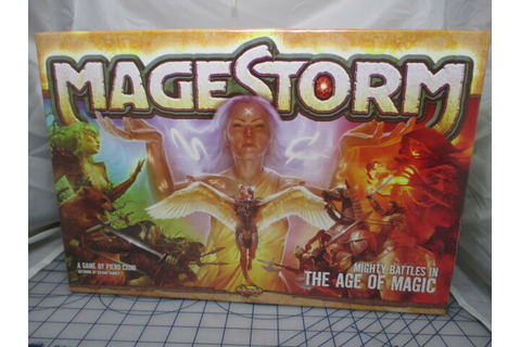 Magestorm The Age of Magic by Nexus Games Board Game Free ...