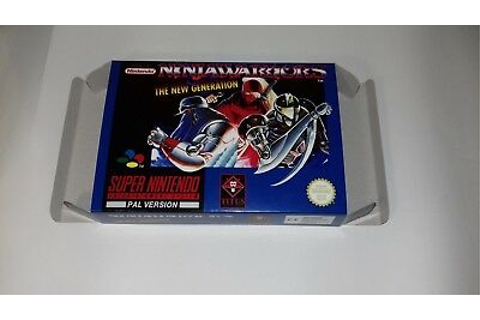 Ninja Warriors the New Generation-PAL-Super Nintendo-SNES ...