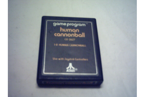 ATARI 2600 7800 GAME; Human Cannonball 1979 *Cartridge ...