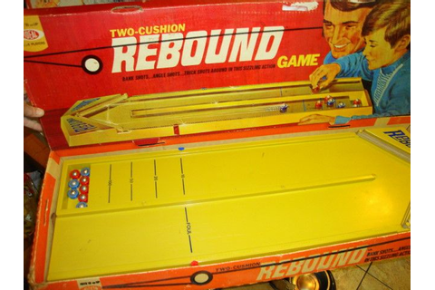 The Game Of Rebound | the WAYBAC machine! | Pinterest