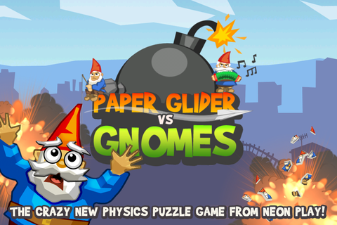 App Shopper: Paper Glider vs. Gnomes (Games)