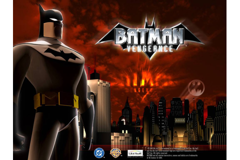 PC games: Batman Vengeance(PC GAME)