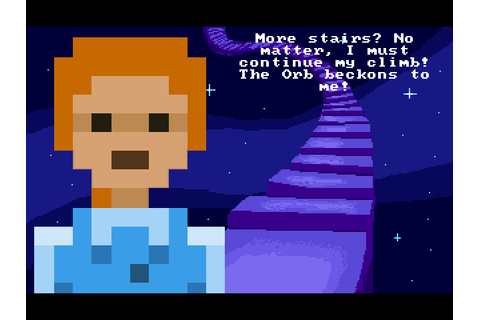 Adventure Game Studio | Games | Stair Quest