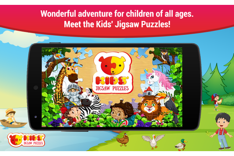 Jigsaw puzzles for kids free boys and girls games ...