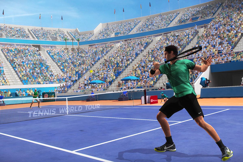 Tennis World Tour puts a top spin on the career mode - Polygon
