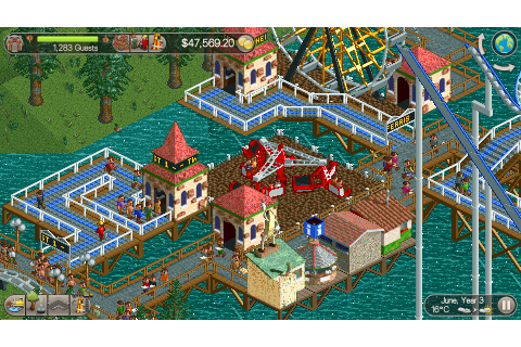 RollerCoaster Tycoon Classic review: A near-perfect ...