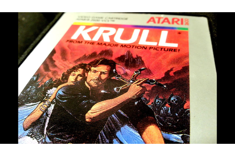 Classic Game Room - KRULL review for Atari 2600 - YouTube