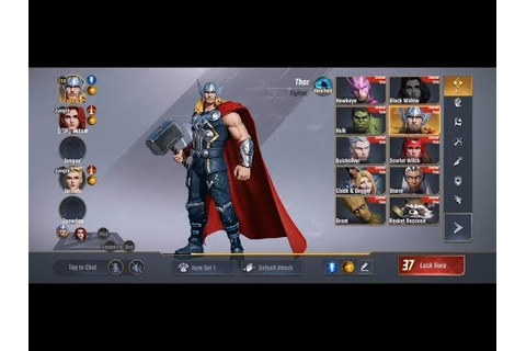 MARVEL Super War Gameplay (new MOBA game by Marvel ...