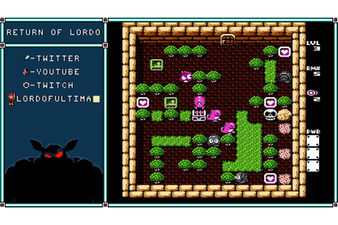 Adventures of Lolo 3 (Level 1-3) - YouTube