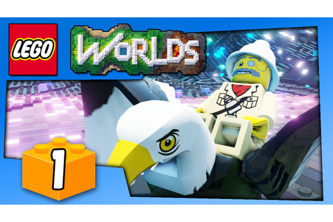 LEGO WORLDS GAMEPLAY - Lego Game Like Minecraft - PC ...
