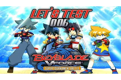 Beyblade VForce: Super Tournament Battle GCN/GameCube ISO ...