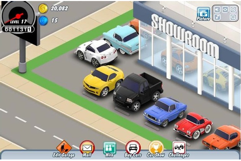 Car Town turns Facebook gamers into car people | Autoblog